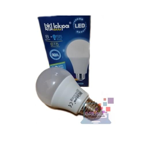 LED lemputė 8W E27 Iskra