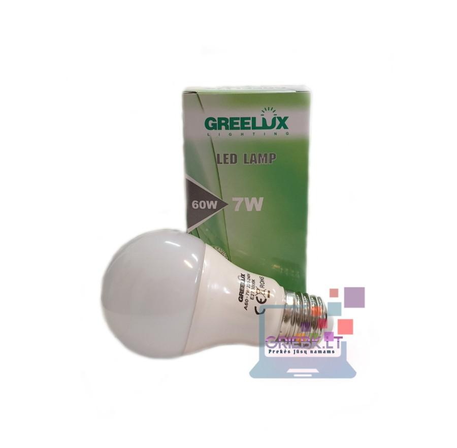 LED lemputė A60 7W E27 Greelux