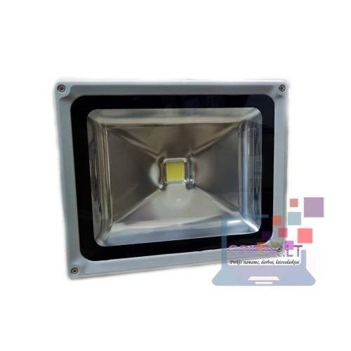 LED prožektorius be daviklio 50W E038 6500K