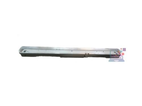 Hermetinis šviestuvas IP65 0,6m 1×9W