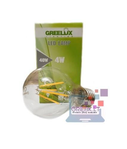 LED lemputė Filament A60 E27 220V 4W Greelux