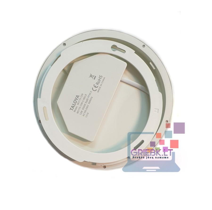 LED panėlė su jutikliu 12W
