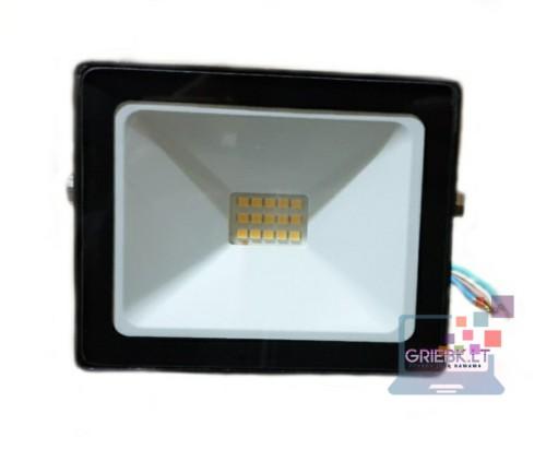 LED prožektorius be daviklio 10W
