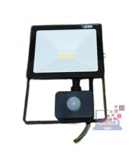 LED prožektorius su davikliu 20W Greelux