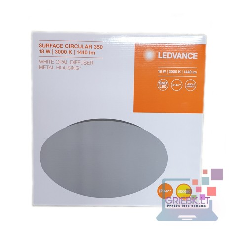 LED šviestuvas LEDVANCE 18W